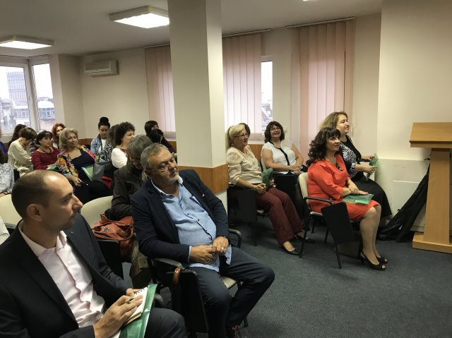 National dissemination conference in Bulgaria