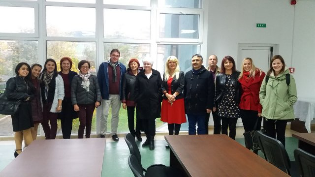 Final project meeting in Romania